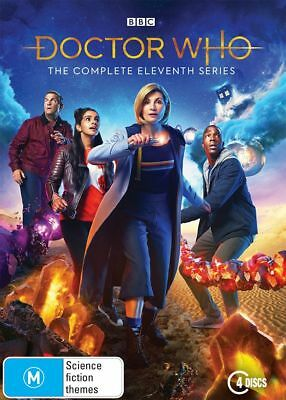 Doctor Who Eleventh Series Season 11 BRAND NEW Region 4 DVD