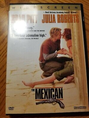 The Mexican Widescreen DVD
