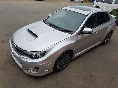 2011 Subaru Impreza wrx 85km ideal export or race track rally car damage drives