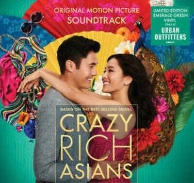 *LIMITED EDITION* COLOR VINYL* Crazy Rich Asians [OST] (2018) 12in LP