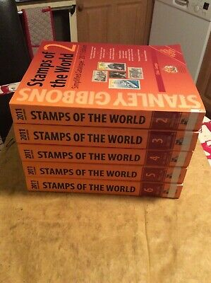 Stanley Gibbons - stamps of the world - 2011 - 2-6 - ex Library - catalogues
