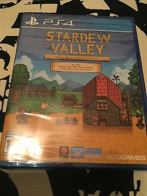 Stardew Valley: Collector's Edition (Sony PlayStation 4, 2017)
