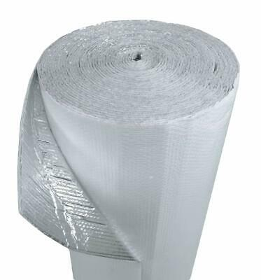 16x100 Floor Joist White Poly Air Reflective Foil Insulation Thermal Barrier R8
