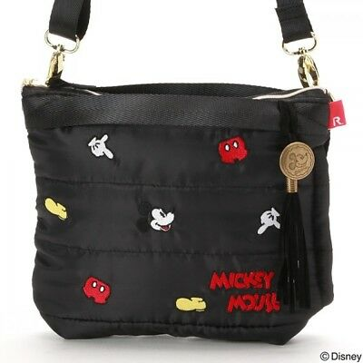 77ffc8b3c2b4 Disney Mickey 2Way Shoulder Bag Tote Purse Handbag Pouch Sacoche Japan Z7160