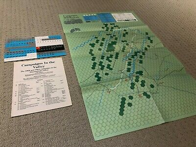 Campaigns In The Valley Strategy & Tactics 1988 Unpunched