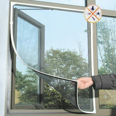 Fly Mosquito Window Net Mesh Screen Room Curtain Protector Fly Screen Inset