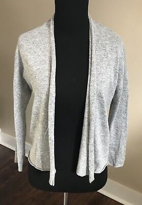 8cd7ff0964 Stitch Fix Brixon Ivy Grey Janette Fitted Open Front Cardigan Size Small S  New
