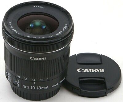 Canon EF-S 10-18mm f/4.5-5.6 IS STM Lens ** Mint **