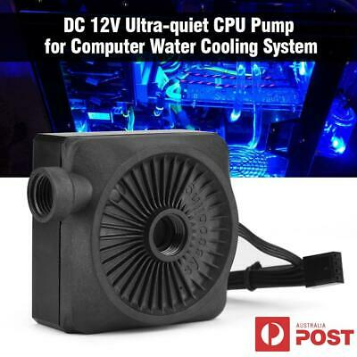 12V DC Water Cooling Pump 500L/H Ultra-quiet for PC Computer CPU Cooler System