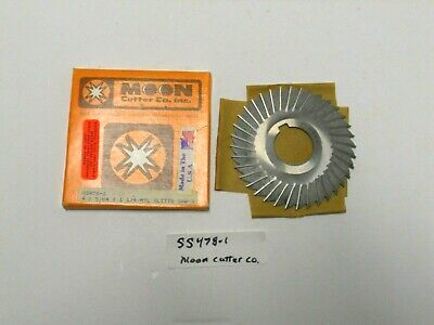 """HS Metal Slitting Saws Side Chip Clearance 4/""""x5//64x1 hole"""