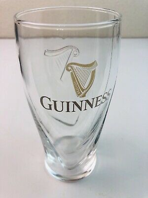 GUINNESS New Design Gravity 20oz Pint Beer Embossed Glass by Luminarc Set of 24