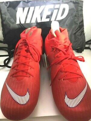 e3728a754 New Nike Mercurial Superfly 360 Elite ID Soccer Men s Shoes Size 11 Red  Color!