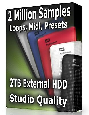 3,1 MILLION WAV Loops Samples Bitwig ProTools Logic Ableton