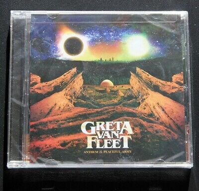 GRETA VAN FLEET - Anthem of the Peaceful Army (SEALED CD, 2018)