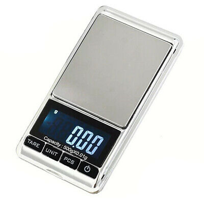 Gram LCD Display Digital Pocket Scales Weight Balance Weighing Electronic