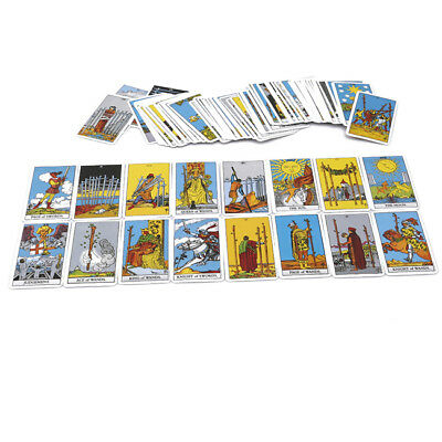 Knight Tarot Card Deck and Book in Mystery Yellow Box Divination Oracle kim