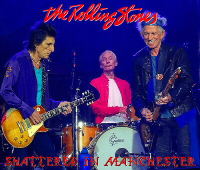 The Rolling Stones - MANCHESTER 2018 LIVE 2CD + BONUS DVDR - Limited & Numbered