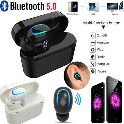 Mini TWS True Wireless In-Ear Stereo Bluetooth V5.0 Earphones Earbuds Headset