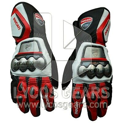 Ducati Motorbike Racing Gloves