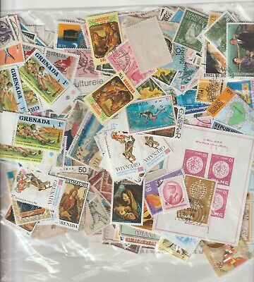 A Big Lot Of Stamps In Bulk From The World 2.
