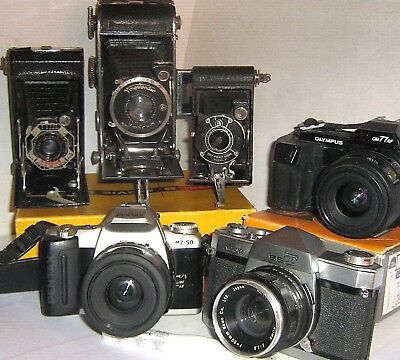 CAMERAS, CAMERAS - 127, 620, 35 mm & OTHERS - click - SELECT to browse or order