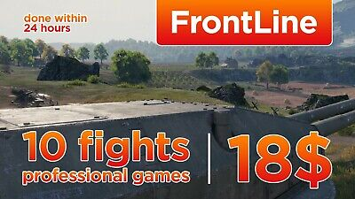 World Of Tanks 10 fights in FrontLine and 2.000.000 silver / Professional games