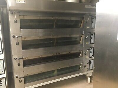 Mondial Forni 4 Deck, 12 Tray, 3 Phase Commercial Bakery Oven