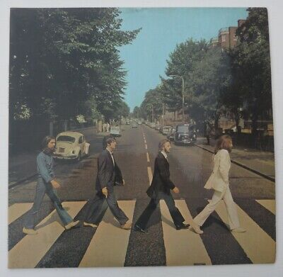 The Beatles Abbey Road VINYL ALBUM RECORD LP 1969 PCS 7088