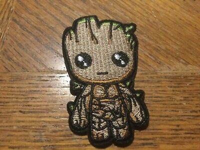 "Guardians Of The Galaxy Cute Groot Embroidered patch 3.25"" x 1.75"""