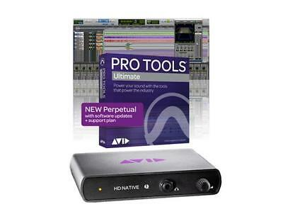 AVID HD Native Thunderbolt & Pro Tools ULTIMATE 2018 DAW Bundle w/ PERPETUAL Lic