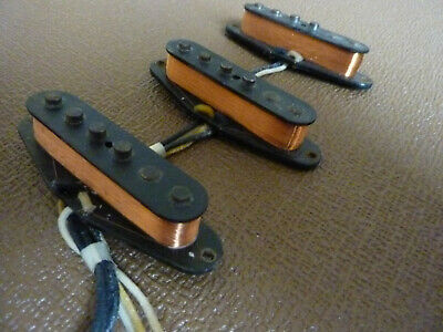 FENDER CUSTOM SHOP Abigail Ybarra Fat 50's Hand Wound pickups 2007   Rare !!