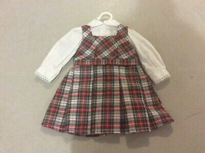 American Girl Rare And Retired Historical Molly Mcintire School Dress
