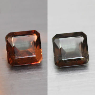 0.86Cts  Unique 100% Natural' Dancing Color Change Axinite Rare Gem Aaa !!!!