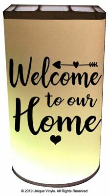 Scentsy Go, Personalised Sticker for Scentsy Go, Welcome to our Home Sticker
