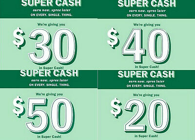 Old Navy Super Cash SuperCash $30 $40 $50 Store or Online 5/30-6/7 Fast Email
