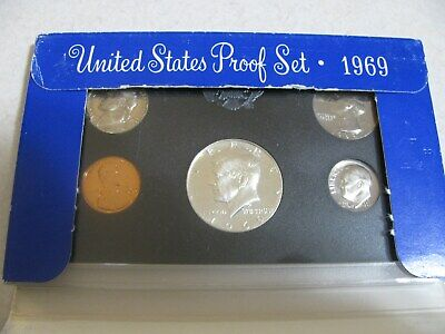 1969-S Proof Set United States US Mint Original Government Packaging Box