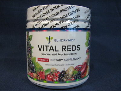 Gundry MD Vital Reds Concentrated Polyphenol Blend - 4 oz Red Berry Flavored