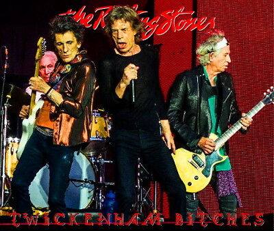 The Rolling Stones - TWICKENHAM LONDON 2018 LIVE 2CD - Limited & Numbered