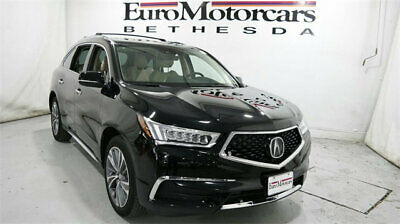 2017 Acura MDX SH-AWD w/Technology Pkg acura mdx sh awd technology pkg used black suv leather 16 17 18 navigation
