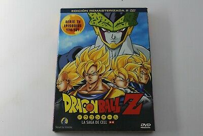 Dvd Dragon Ball Z Vol 22 Remasterizada La Saga De Cell Episodios 174 - 181