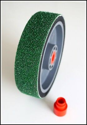 "TOP 8"" REZ grit 60 lapidary diamond resin cabbing grinding wheel 60grit soft"