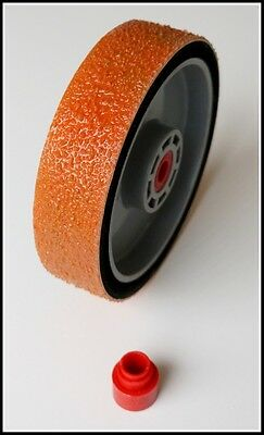 "TOP 8"" REZ grit 140 lapidary diamond resin cabbing grinding wheel 140grit soft"
