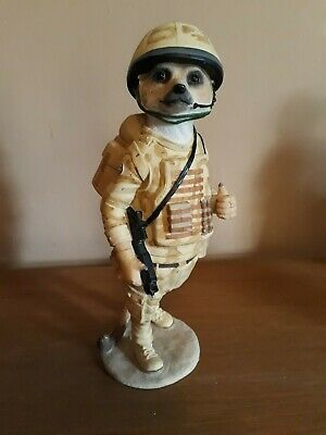 Country Artists Magnificent Meerkats Tommy. Soldier.