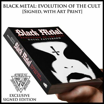 Black Metal: Evolution of the Cult, *SIGNED*  by author + exclusive art print