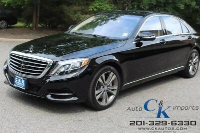 2014 Mercedes-Benz S-Class S550 PI,Driver Assist Package,19'' Wheels, Comfort LANE KEEPING ASSIST, BLIND SPOT, HEATED STEERING WHEEL, HEATED & COOLED SEATS !!