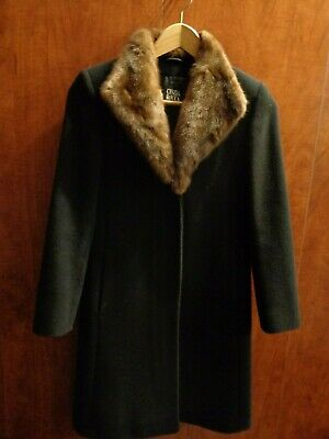 f3a73824556 CINZIA ROCCA ALPACA And Wool Coat In Size 2 -  29.00