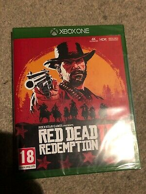 Red Dead Redemption 2 (Xbox One) BRAND NEW & SEALED, FAST DISPATCH