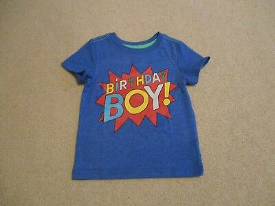 NEW BOYS BIRTHDAY T Shirt 2 Years Old Size 3T
