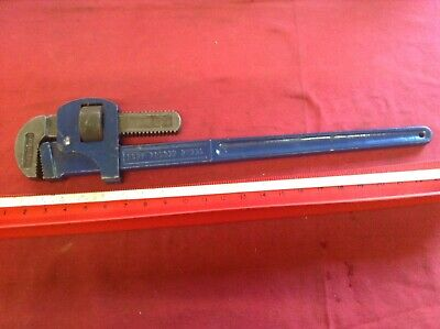 Vintage Record 24 Inch Stilson Pipe Wrench In Excellent Condition