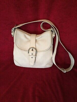 2a62fc05e508 Coach 9480 Soho Flap Vanilla Ivory Smooth Leather Shoulder   Crossbody Bag